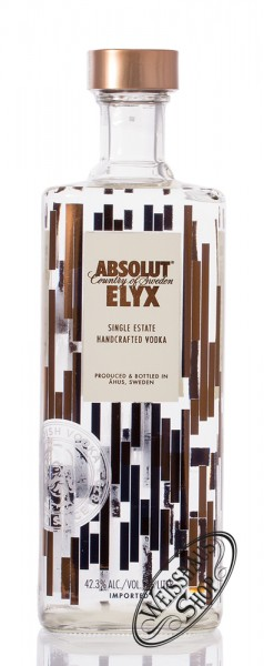 Absolut Elyx Vodka 42,3% vol. 1,50l Magnum