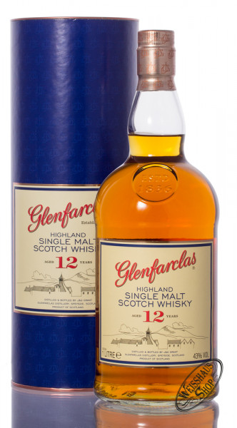 Glenfarclas 12 YO Single Malt Whisky 43% vol. 1,0l