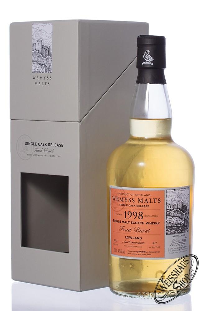 Auchentoshan Vintage 1998 Wemyss Fruit Burst 16 YO Whisky 46% vol. 0,70l