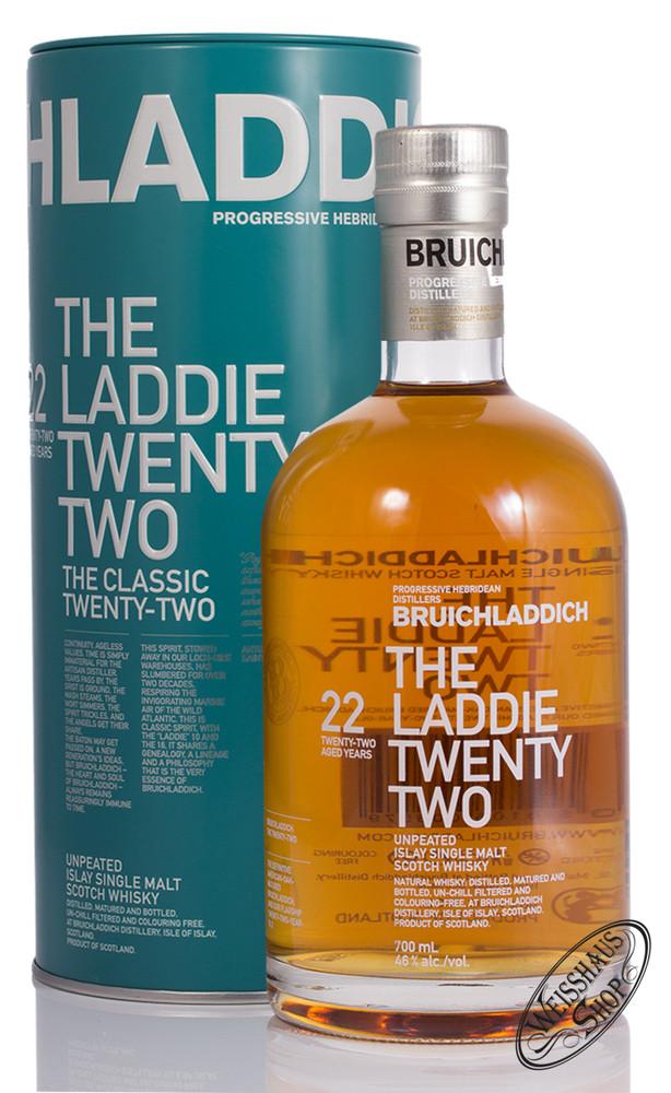 Bruichladdich 22 YO The Laddie Twenty Two Islay Whisky 46% vol. 0,70l