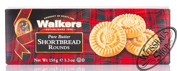 Walkers Shortbread Rounds 150g