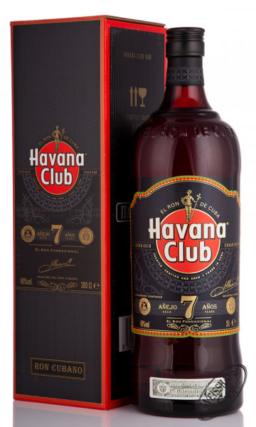 Havana Club Anejo 7 Anos Rum Magnum 40% vol. 3,0l
