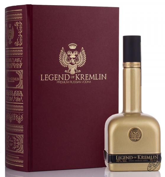 Legend of Kremlin Gold in Bibel Vodka 40% vol. 0,70l
