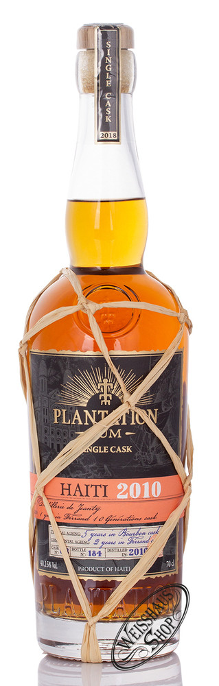 Plantation Rum Plantation Haiti 2010 Vintage Edition Rum 40,15% vol. 0,70l