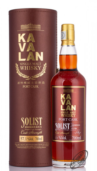 Kavalan Solist Port Cask Whisky 57,1% vol. 0,70l
