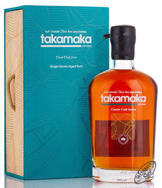 Takamaka Creole Craft Series Single Barrel Aged Rum 55,3% vol. 0,70l