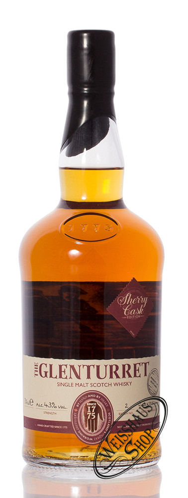 Glenturret Sherry Edition Whisky 43% vol. 0,70l