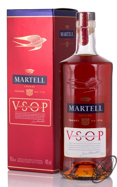 Martell VSOP Red Barrels Cognac 40% vol. 0,70l