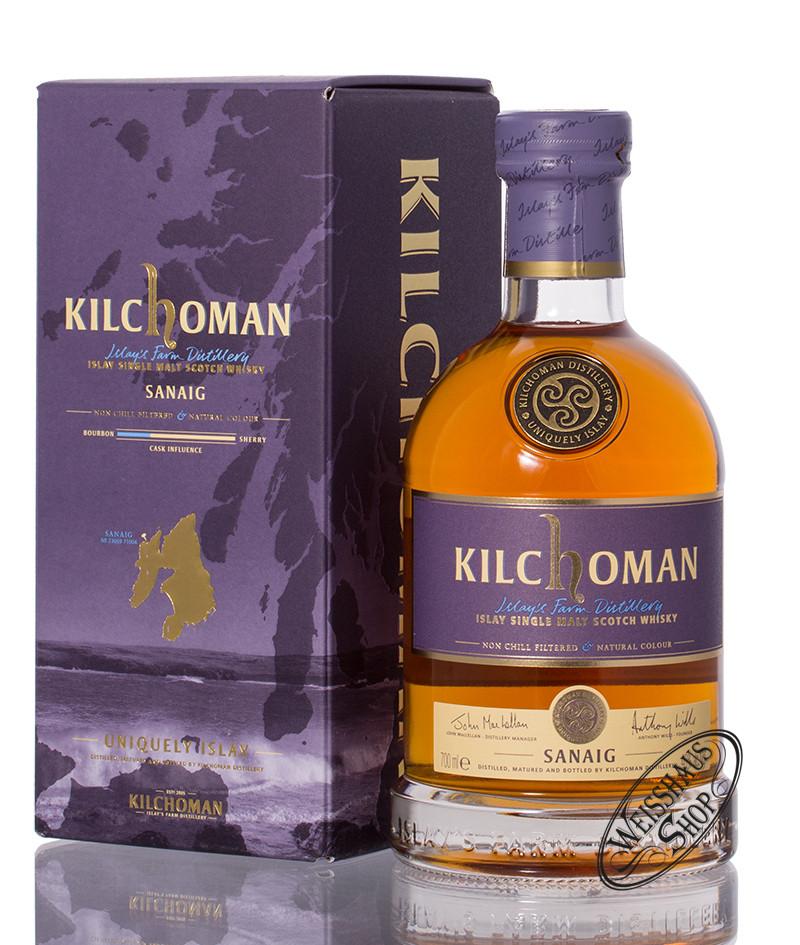 Kilchoman Sanaig Islay Whisky 46% vol. 0,70l