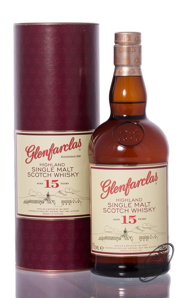 Glenfarclas 15 YO Whisky 46% vol. 0,70l