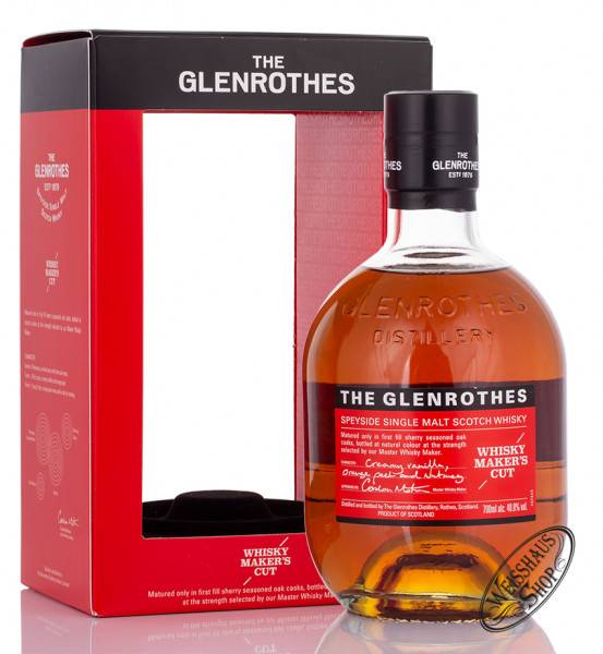 The Glenrothes Maker's Cut Whisky 48,8% vol. 0,70l