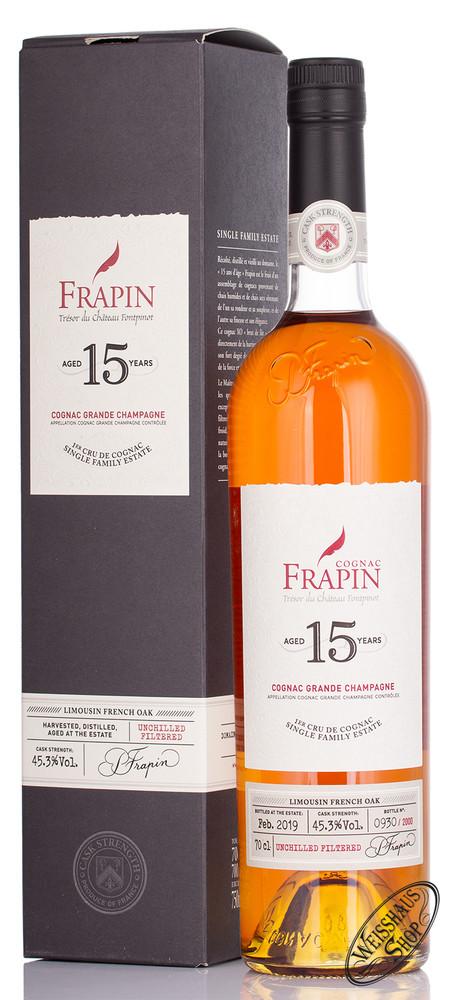 Frapin 15 YO Cognac 45,3% vol. 0,70l