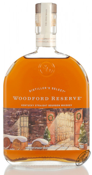 Woodford Reserve Holiday Select Bourbon Whiskey 43,2% vol. 0,70l