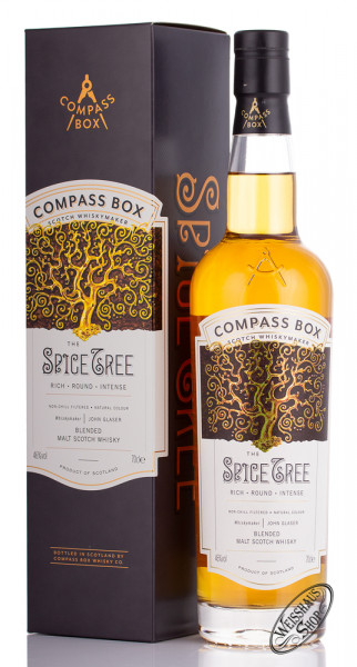 Compass Box The Spice Tree Blended Whisky 46% vol. 0,70l