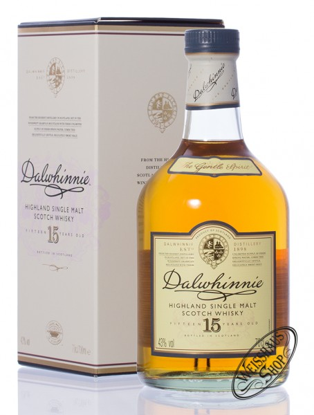 Dalwhinnie 15 Years Old Highland Whisky 43% vol. 0,70l