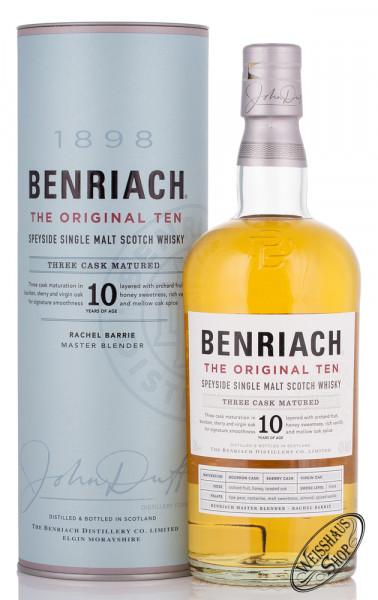 BenRiach The Original Ten 10 YO Whisky 43% vol. 0,70l