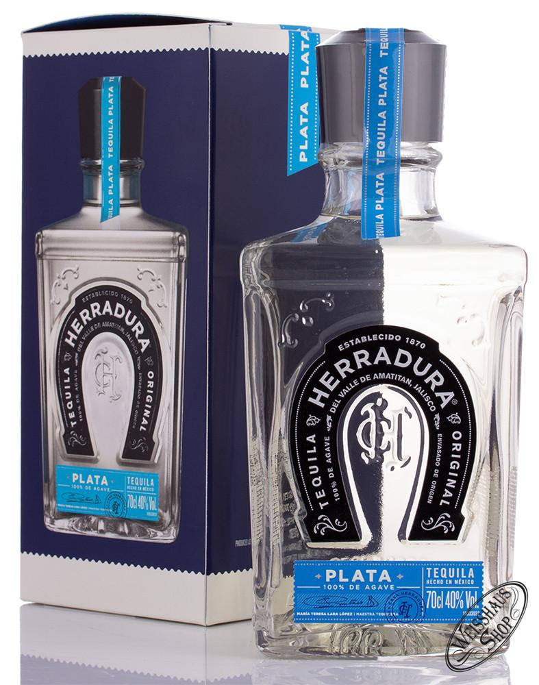 Herradura Plata Blanco Tequila 40% vol. 0,70l