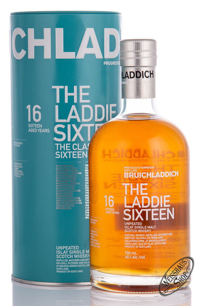 Bruichladdich 16 YO The Laddie Sixteen Islay Whisky 46% vol. 0,70l