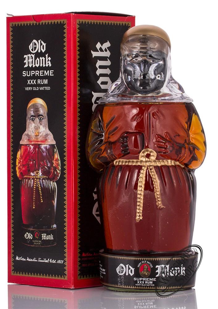 Old Monk Supreme Rum M�nchsflasche 42,8% vol. 0,70l