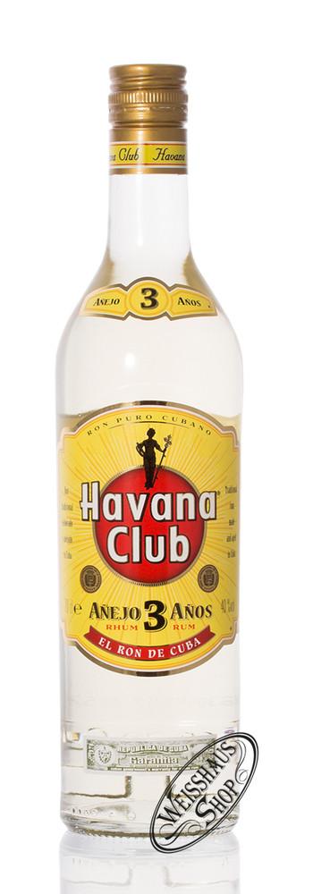 Havana Club Anejo 3 Anos Rum 40% vol. 0,70l