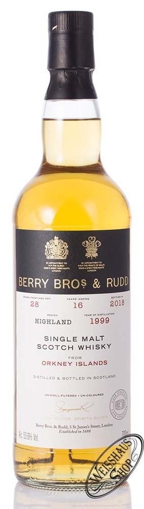 Berry Bros. & Rudd Orkney Island Single Malt Whisky 53,6% vol. 0,70l