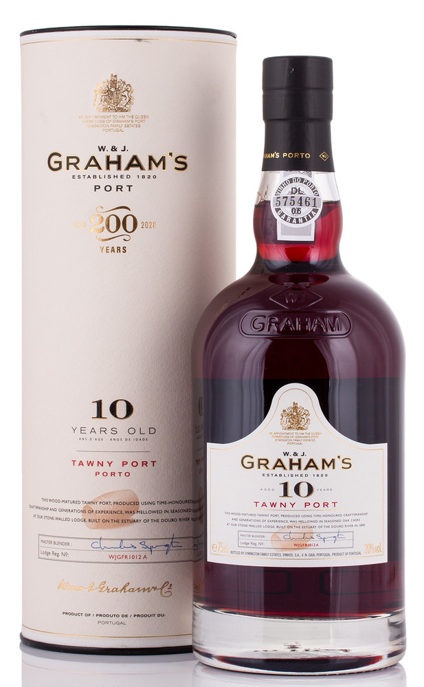 Graham's 10 YO Tawny Port 20% vol. 0,75l