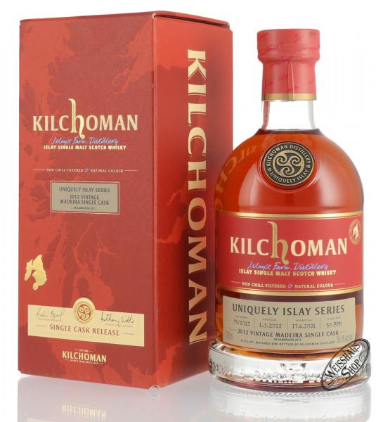 Kilchoman Vintage 2012 Madeira Cask Islay Whisky 55,2% vol. 0,70l