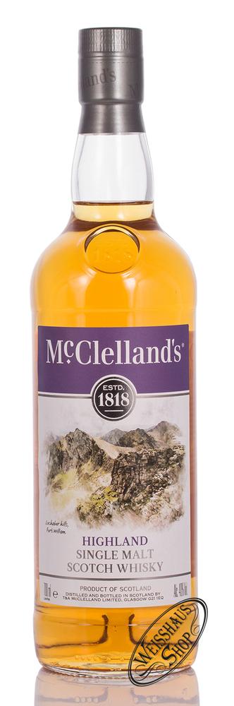 McClellands Highland Single Malt Whisky 40% vol. 0,70l