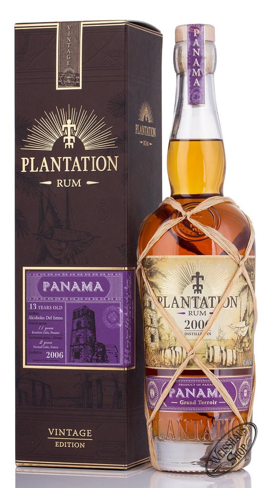 Plantation Rum Plantation Panama Rum 2006 Vintage Edition 41,6% vol. 0,70l