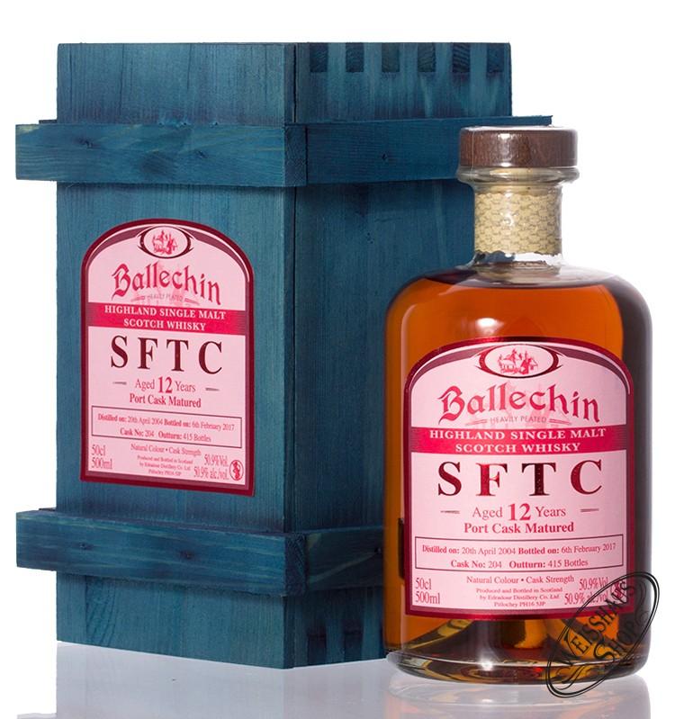 Edradour Ballechin 2004 SFTC Port Cask Whisky 50,9% vol. 0,50l