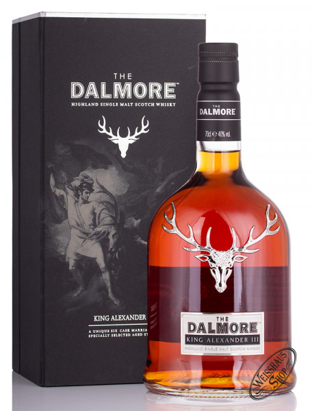 The Dalmore King Alexander III Single Malt Scotch Whisky 40% vol. 0,70l