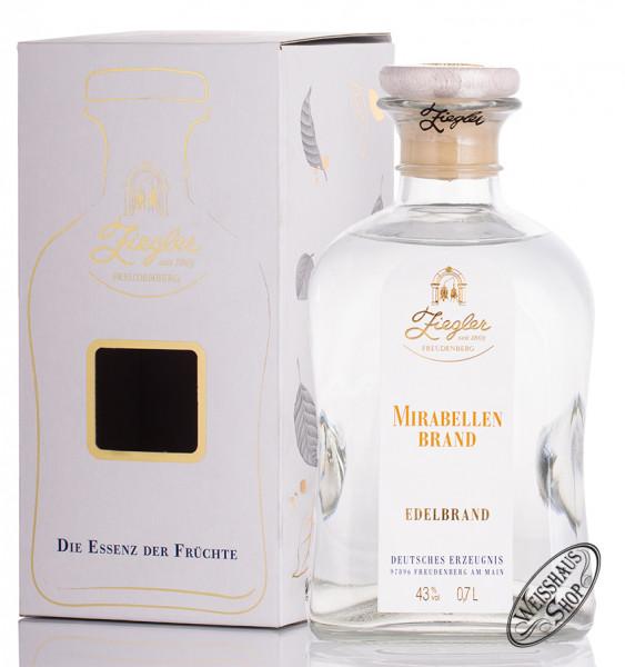 Ziegler Mirabellen Brand 43% vol. 0,70l