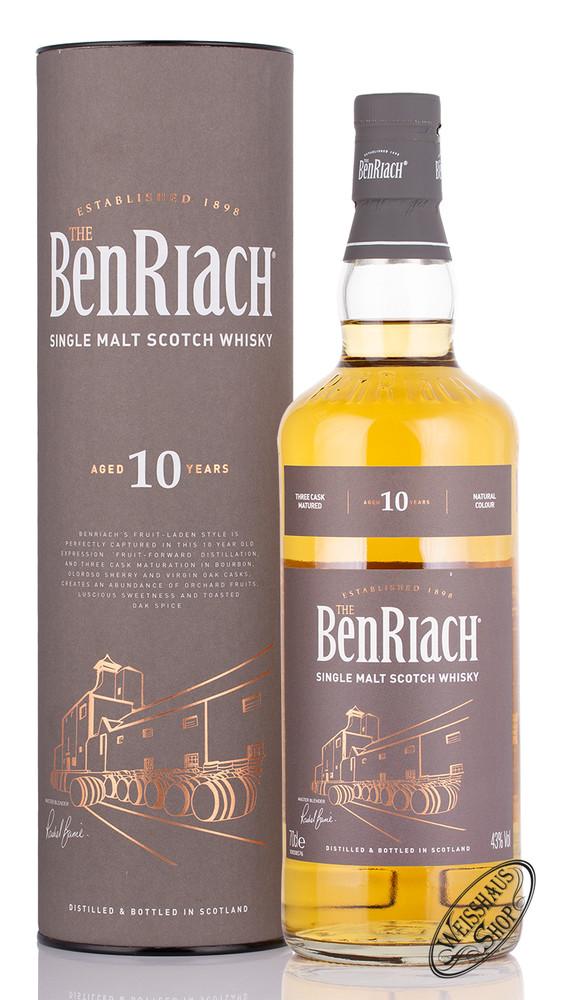 BenRiach 10 YO Single Malt Whisky 43% vol. 0,70l