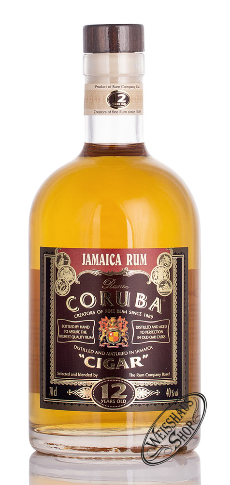 Coruba Cigar Rum 12 YO 40% vol. 0,70l