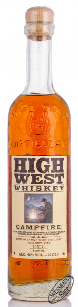 High West Campfire Whiskey 46% vol. 0,70l