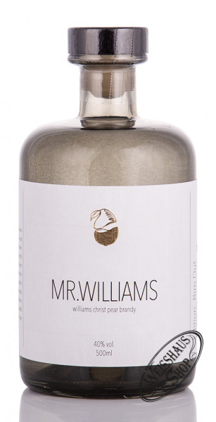 Mr. Williams Birnen Edelbrand 40% vol. 0,50l