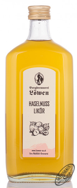 Bergbrennerei Löwen Haselnuss Likör 35% vol. 0,50l