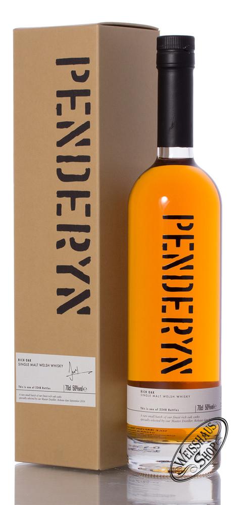Penderyn Rich Oak Single Malt Whisky 50% vol. 0,70l
