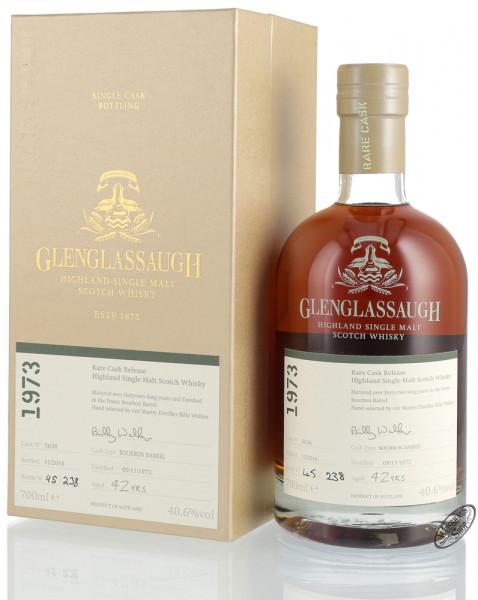 Glenglassaugh Vintage 1973 Bourbon Cask Finished Whisky 40,6% vol. 0,70l