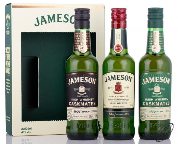 Jameson 3er Irish Whiskey Tasting Set 40% vol. 0,60l