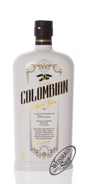 Dictador Colombian Aged Gin White 43% vol. 0,70l