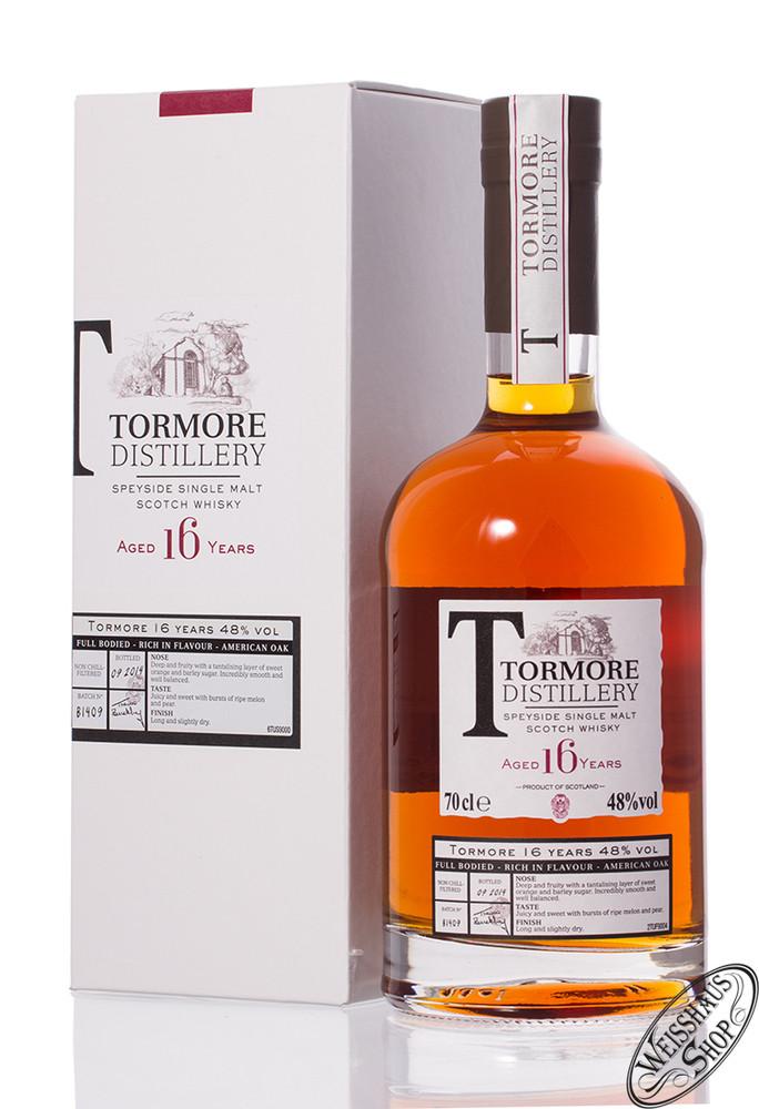Tormore 16 YO Whisky 48% vol. 0,70l