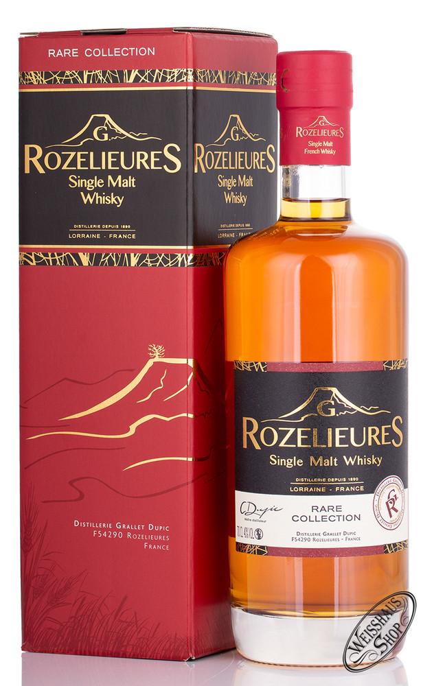 Pierre Ferrand Rozelieures Rare Collection Single Malt Whisky 40% vol. 0,70l