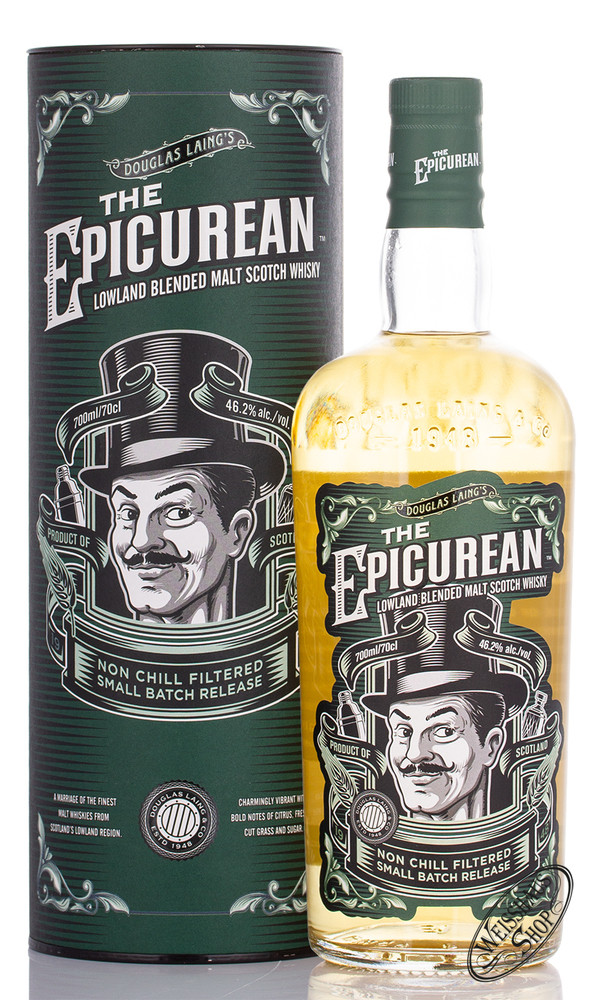 The Epicurean Lowland Douglas Laing Blended Whisky 46,2% vol. 0,70l