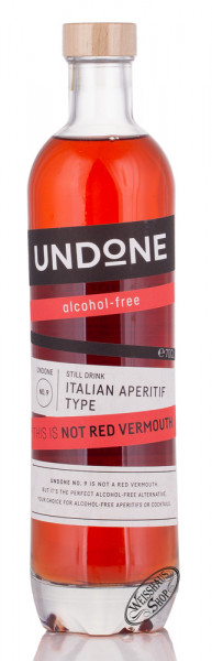 UNDONE No. 9 Italian Aperitif This is Not Red Vermouth 0,70l