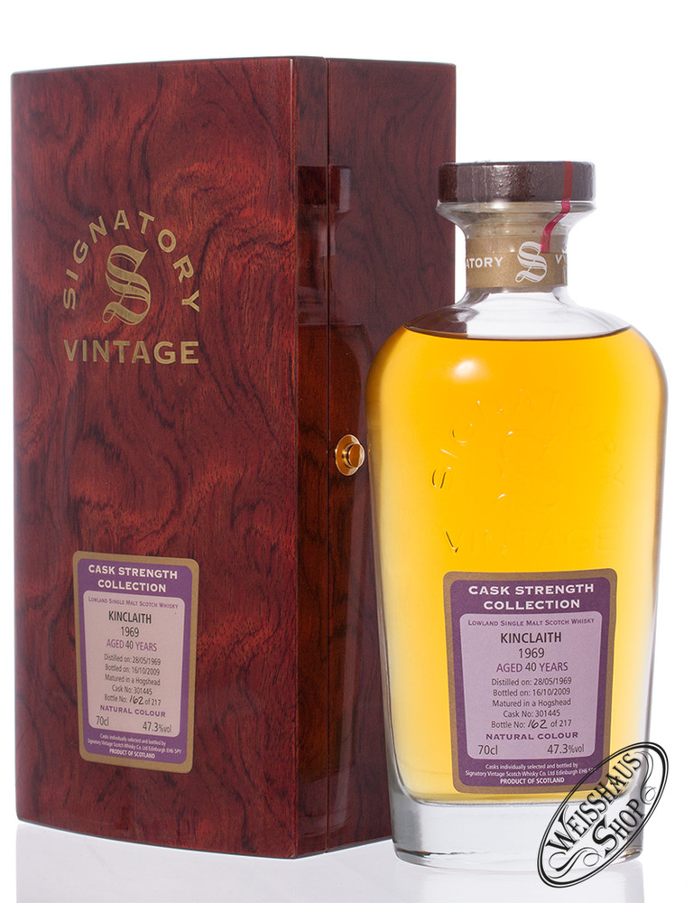 Kinclaith Vintage 1969 Signatory Whisky 47,3% vol. 0,70l