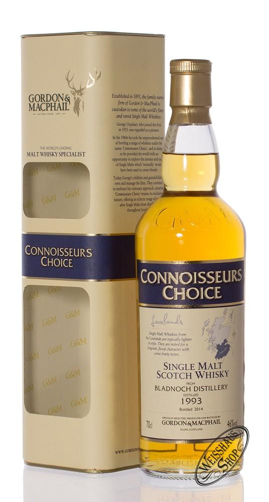 Bladnoch Vintage 1993 Gordon & MacPhail Whisky 46% vol. 0,70l