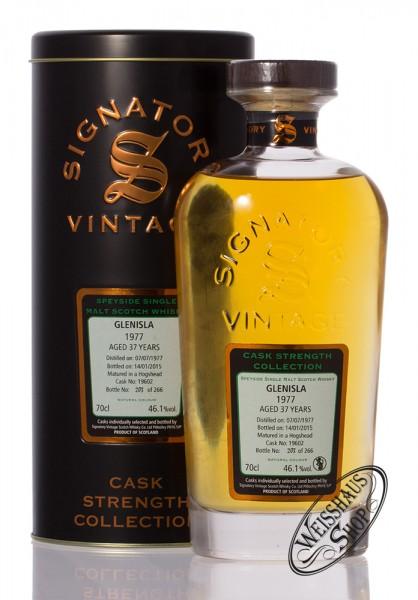 Glenisla Vintage 1977 Signatory Whisky 46,1% vol. 0,70l