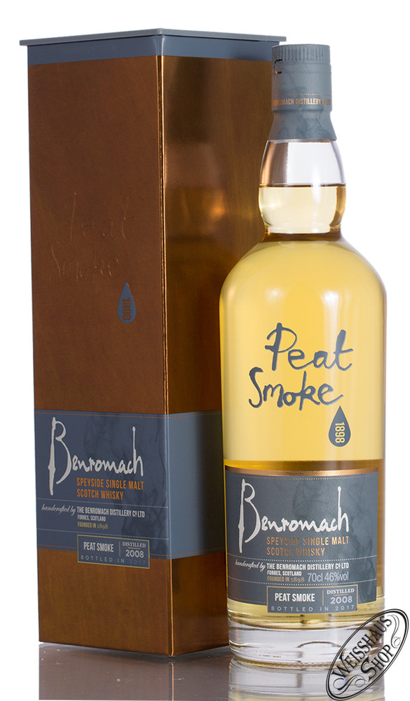 Benromach Peat Smoke Whisky 46% vol. 0,70l