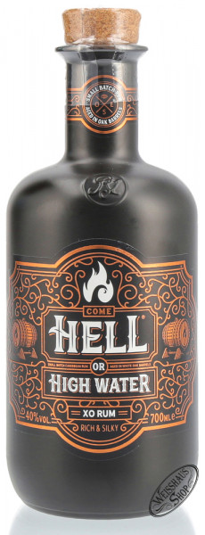 Hell or High Water XO Rum 40% vol. 0,70l